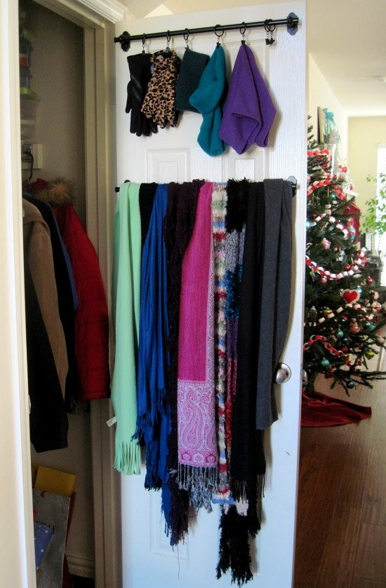 ideas para almacenar con barras para toalla