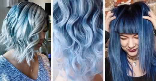 Los tonos humo se lucen en todo tipo de peinados y estilos de cabello
