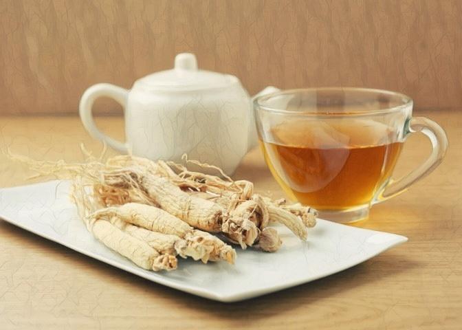 diabetes del té de ginseng