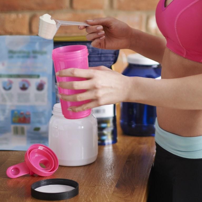 proteina en polvo para aumentar masa muscular