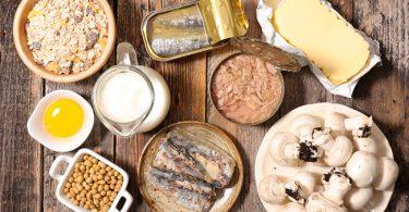 Alimentos que son ricos en vitamina d