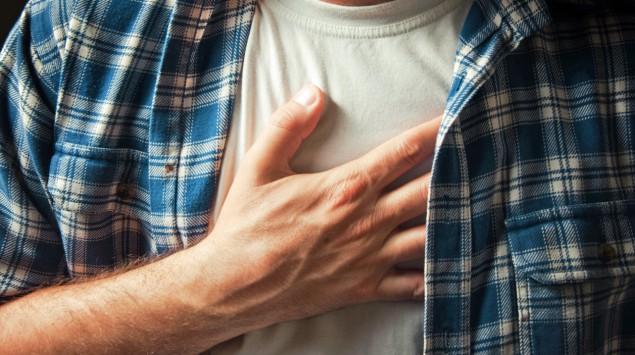 síntomas de la angina de pecho