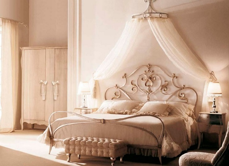hogar más hermoso con cortinas de cama