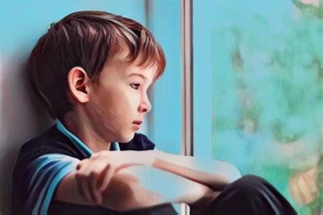 lo que puede significar un niño callado y obediente que puede ser un niño infeliz