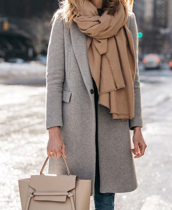 accesorios esenciales bufanda
