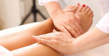 Masajes linfáticos para tratar el lipoedema