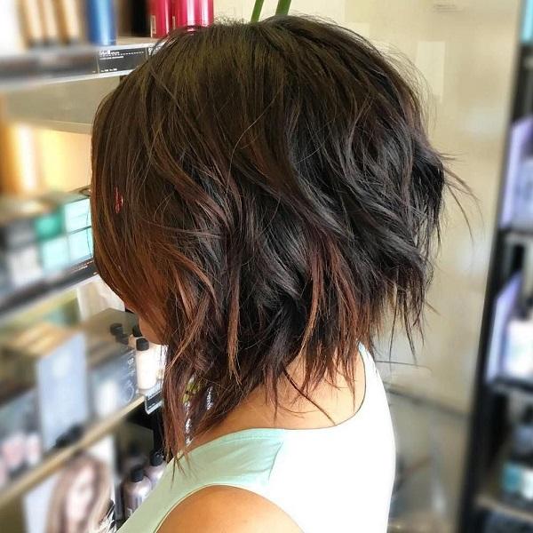 cortes de pelo para cabello grueso estilo bob concavo