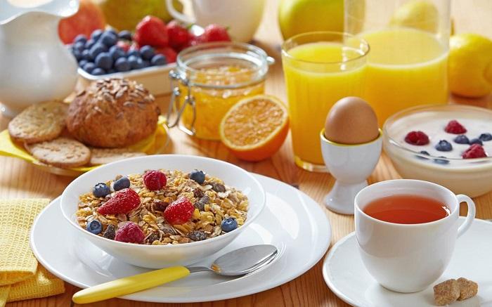 desayunos energéticos para trabajar mejor