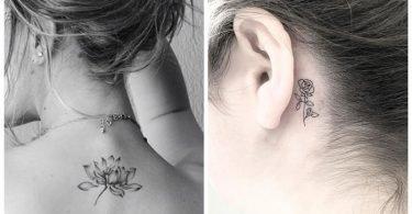 Imagégenes de tatuajes de flores que te ayudarán a elegir