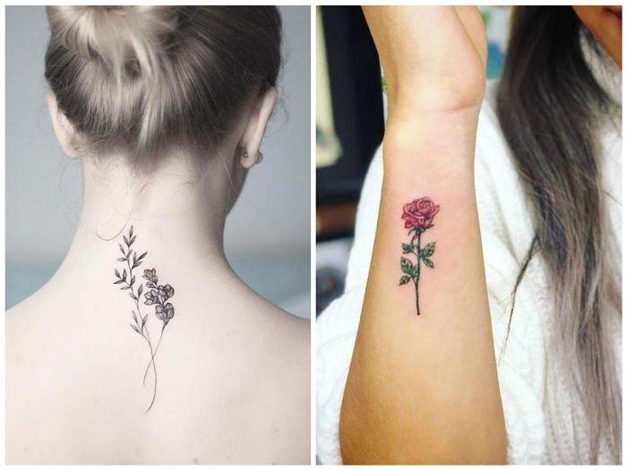Tatuajes De Rosas Con Los Diseños Más Elegantes