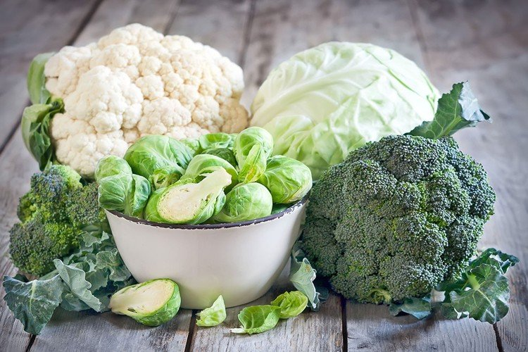 vegetales crucíferos