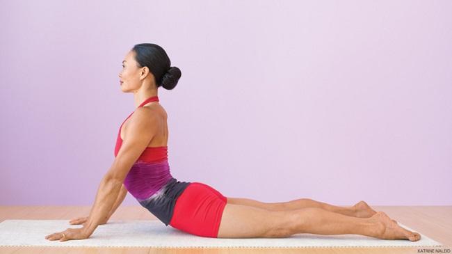 estiramientos de cobra ejercicios para mejorar la postura