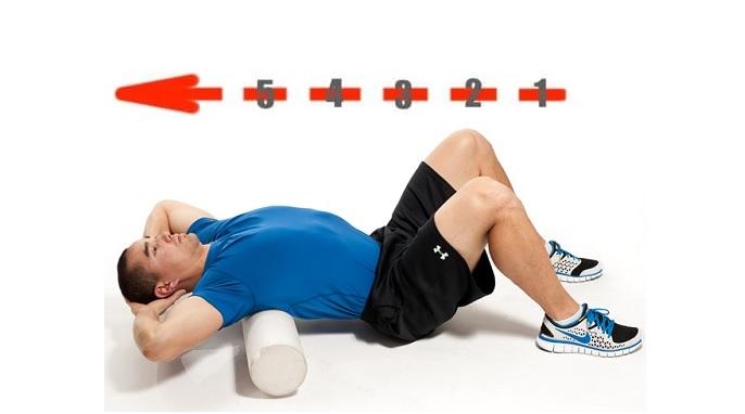 extensión torácica ejercicios para tratar el dolor de espalda