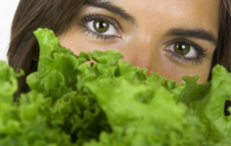vegetales de hoja verde reducen el riesgo de glaucoma