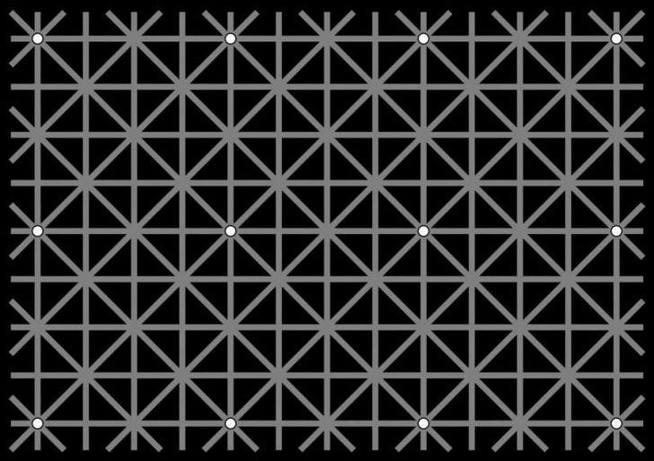 Una ilusión óptica que nos demuestra que nuestros ojos no pueden procesar todo lo que vemos