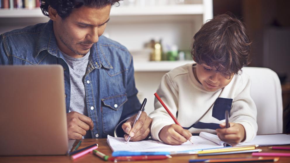 El rol de los padres en las tareas escolares de sus hijos