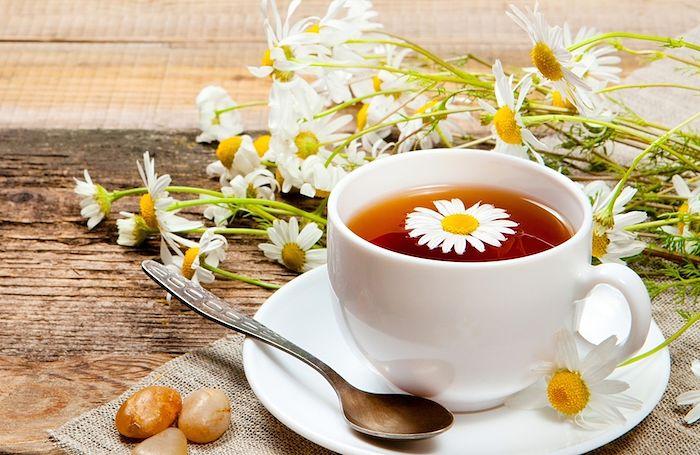 tés té de manzanilla