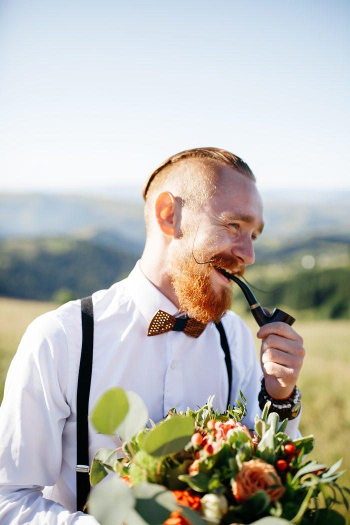 Barba larga hombre
