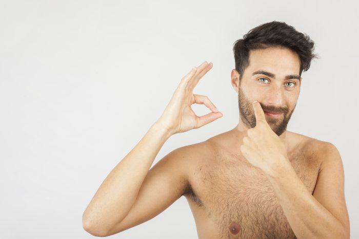 Tipos de barbas para rostros cuadrados