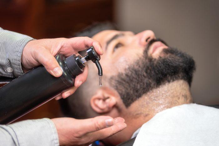 Hidratación de barba
