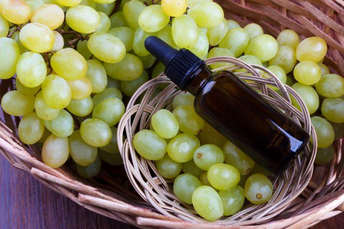Aceite de uva para barba