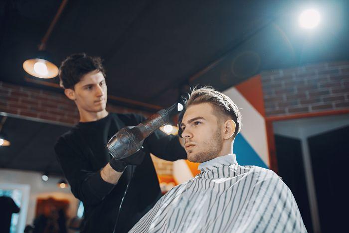 Corte de cabello cara rectangular