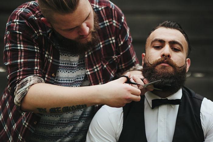 estilista de barba