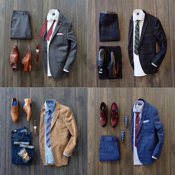 combinando chaquetas de color neutro con zapatos