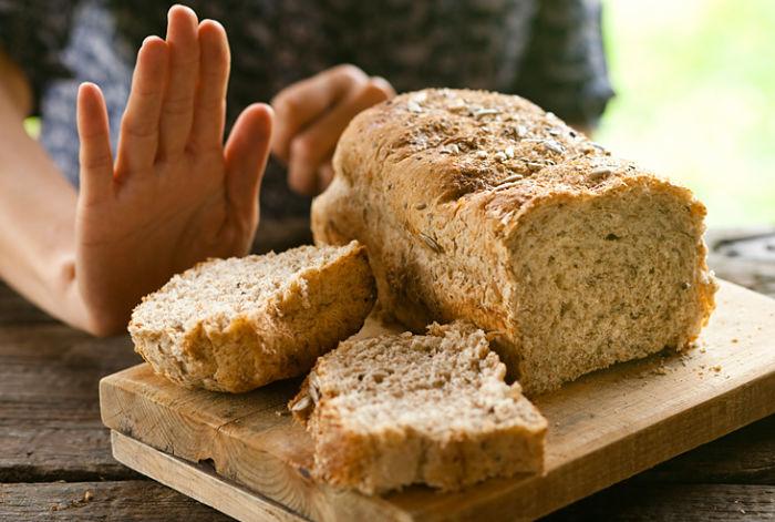 Rechazando panes con trigo