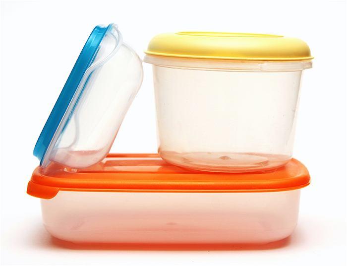 recipientes de plástico tóxicos