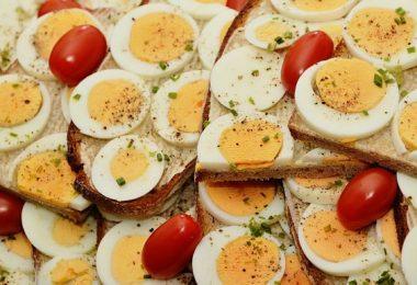 Sandwich para el desayuno y ganar masa muscular