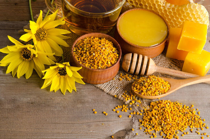 beneficios del polen de abejas