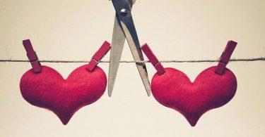 Cortar cuerda entre dos corazones, cuando has dejado de amar