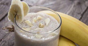 Licuado de plátano para prevenir la depresión