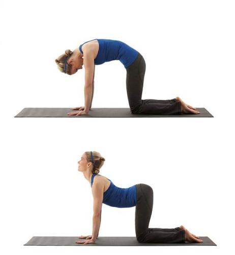 aliviar el estreñimiento posturas yoga