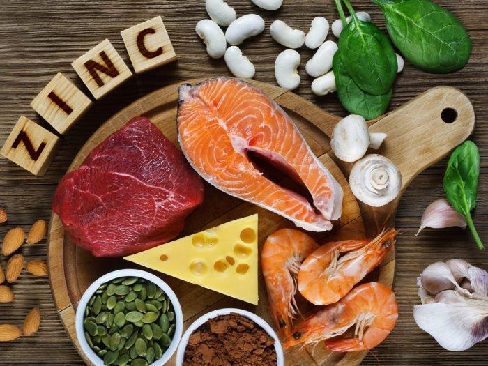 Alimentos con zinc indispensables en la dieta