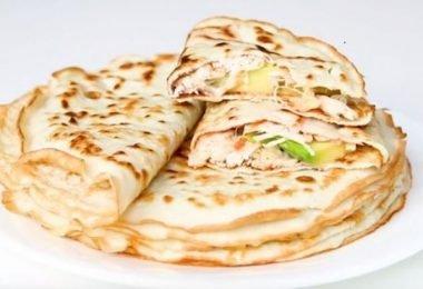 Tortillas paleo de harina de coco bajas en carbohidratos