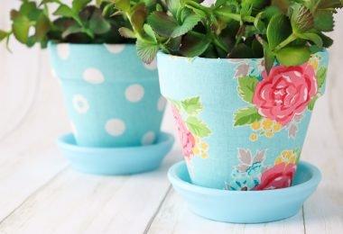 5 ideas creativas para decorar macetas para plantas de interior