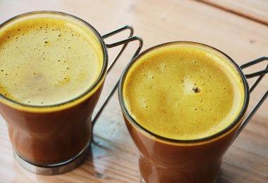 Beneficios del café con cúrcuma para quemar grasa
