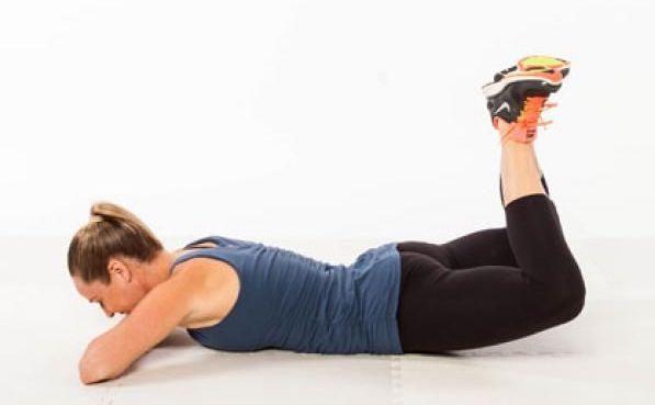 rutina de ejercicios elevaciones de piernas