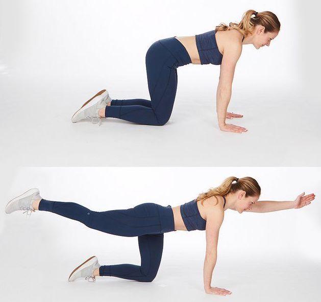 rutina de ejercicios estirar piernas y brazos