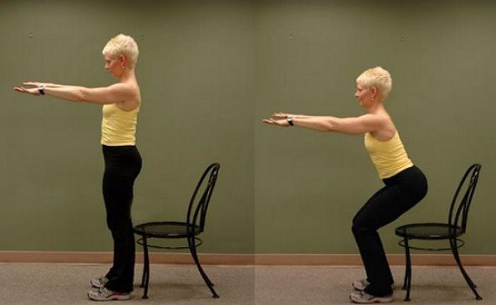 Efectivo ejercicio para fortalecer las rodillas
