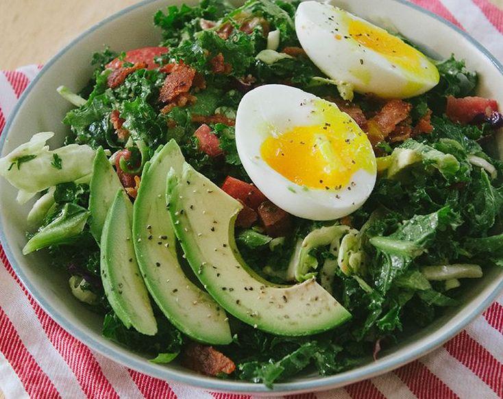 ensaladas en el desayuno