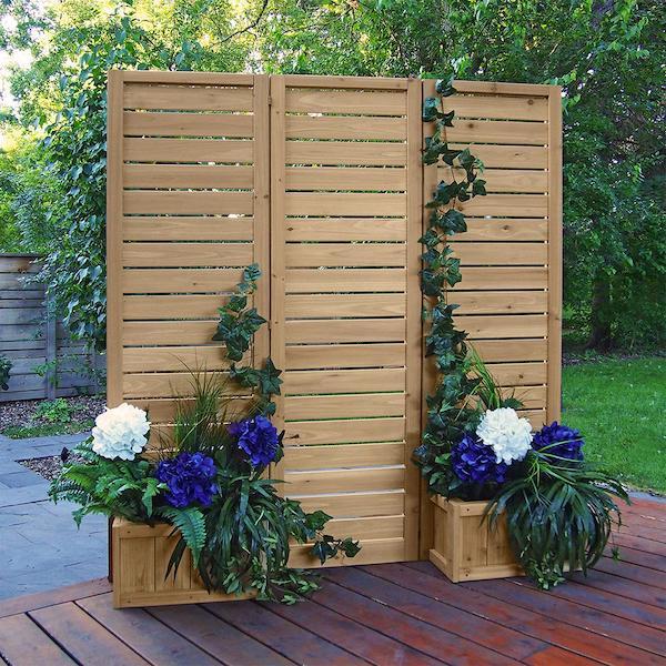paneles divisorios de madera