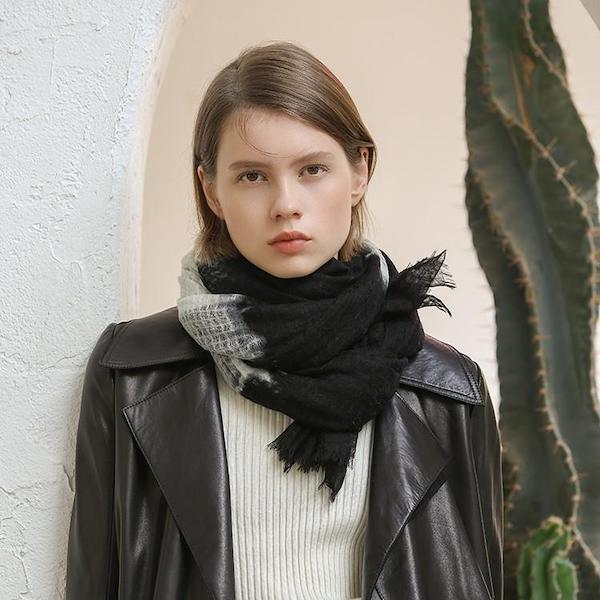 tendencias de moda bufanda ecológica