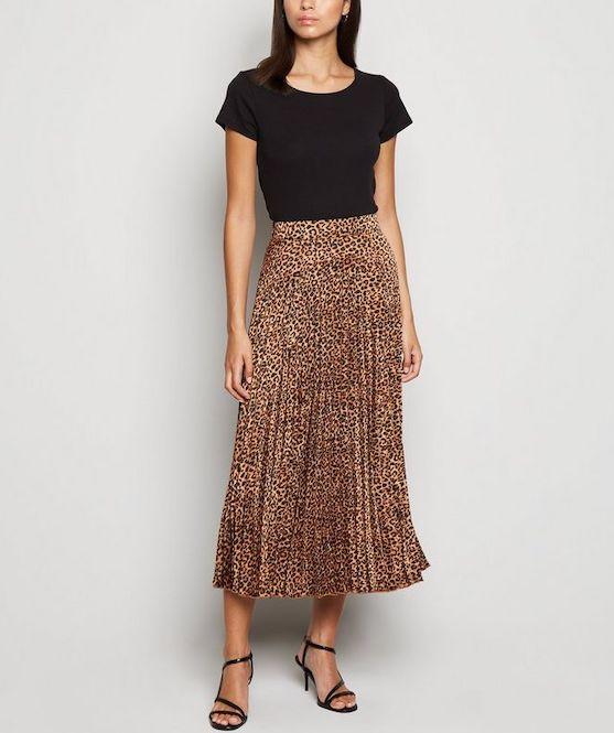 tendencias de moda faldas midi