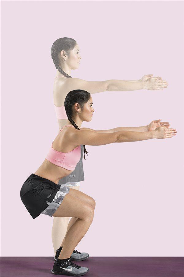 Sentadillas para fortalecer las piernas