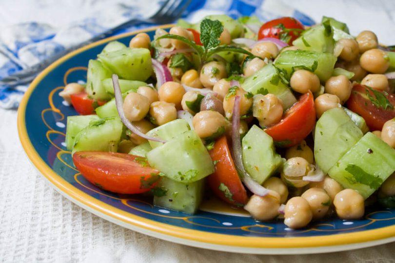 Receta para preparar ensaladas de legumbres