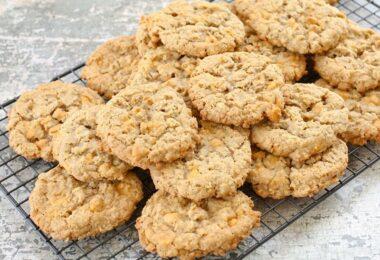 Deliciosas galletas de avena y yogur