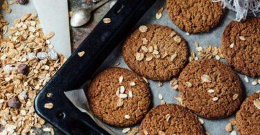 Prueba esta receta de galletitas de avena sin azúcar